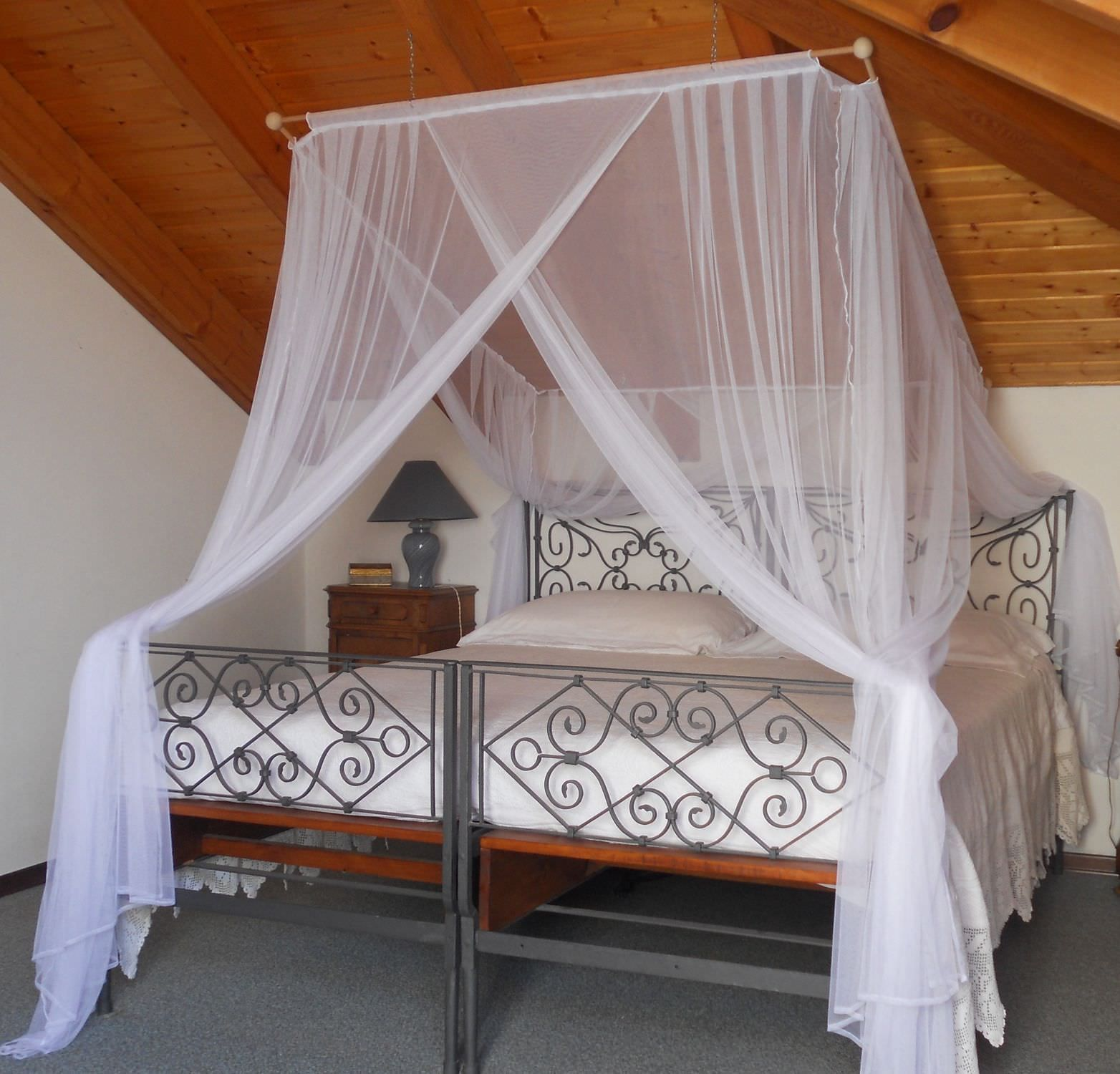 Moustiquaire pour lit d'adulte LOTTI Grigolite ...