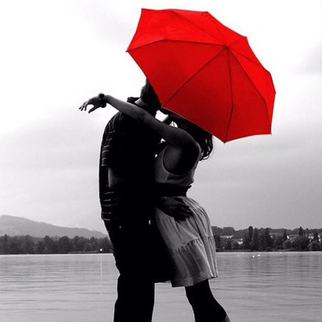 Under The Red Umbrella Photo Photography Pictures