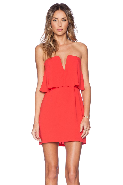 41e0bccfe00 BCBGMAXAZRIA Kate Dress in Red Berry