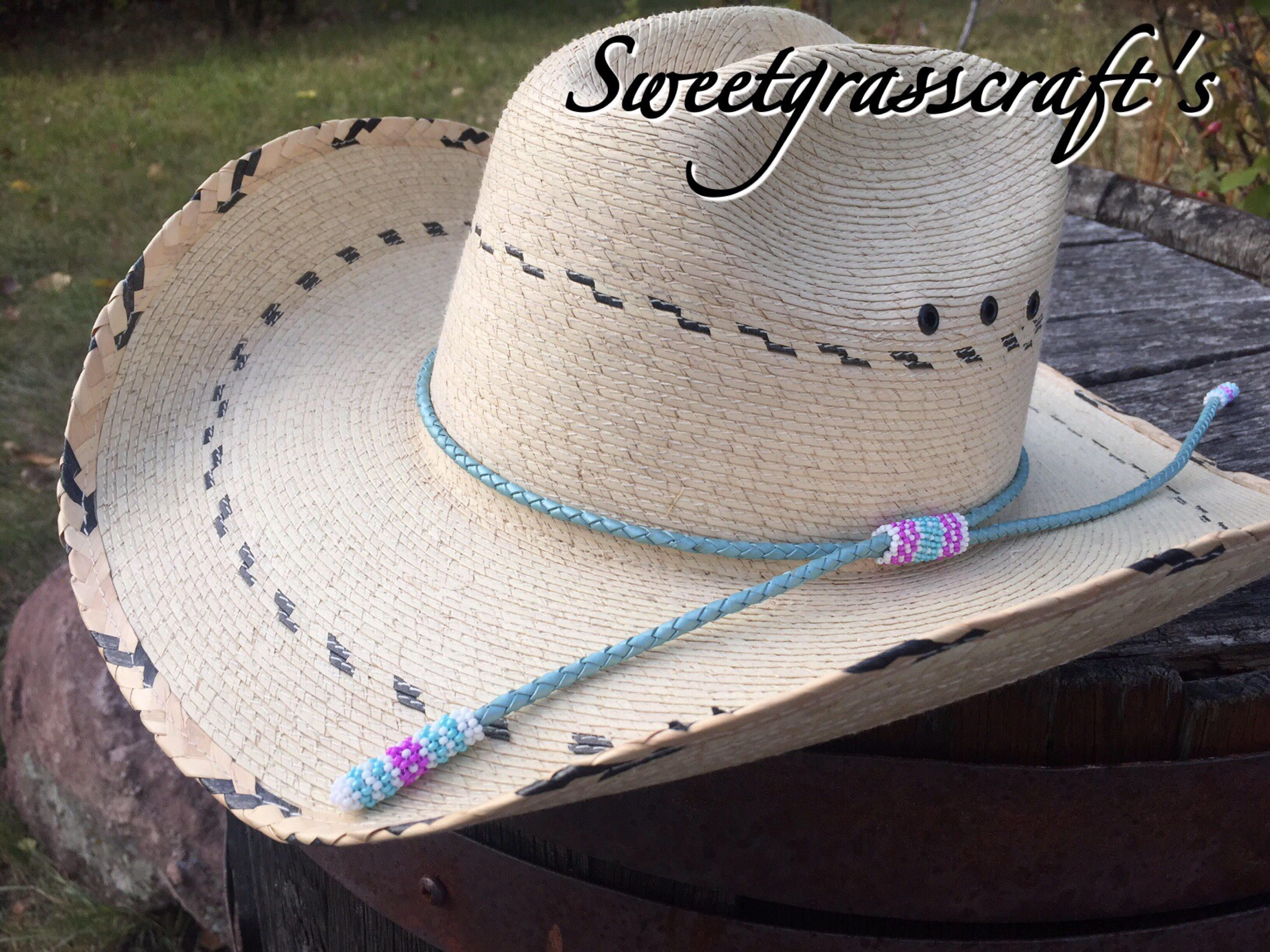 Leather Western Hat Bands