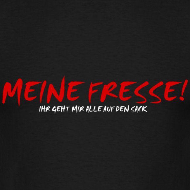 OnePleasure | Genervt Meine Fresse Sack Shirt Geschenk Idee - Männer T-Shirt