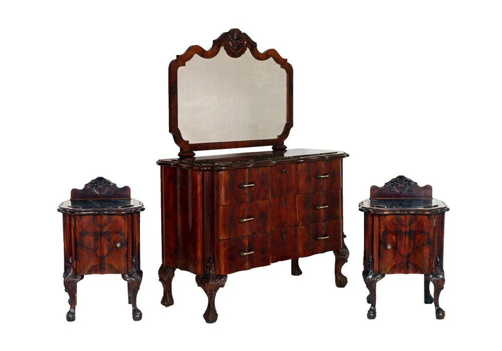 1920s antique bedroom furniture | antique chippendale