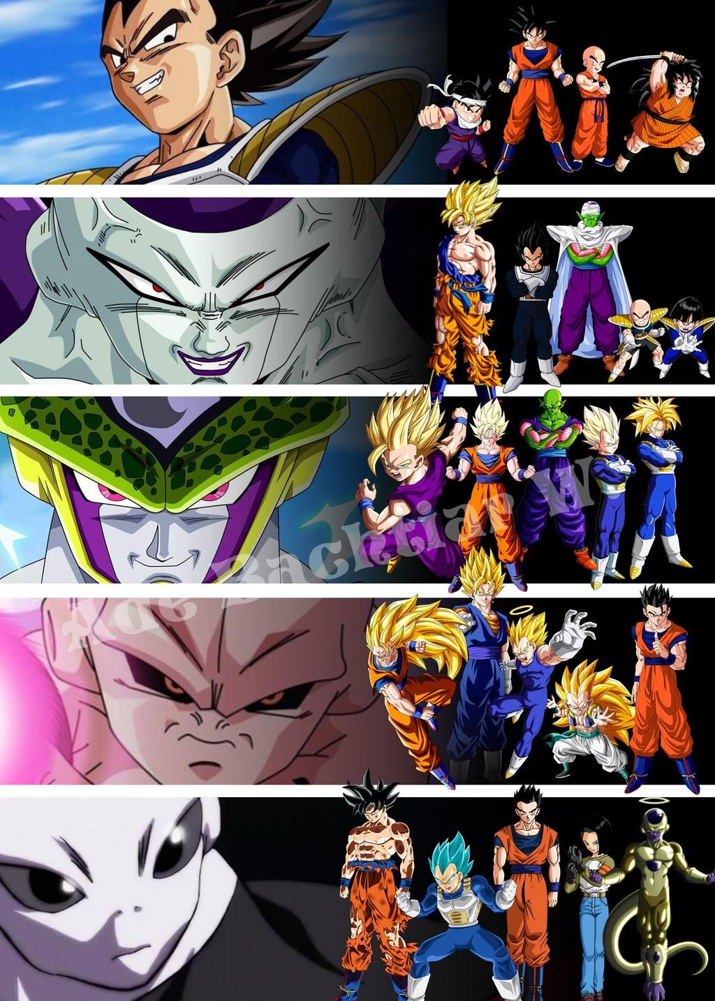 From Z Fighters to Super Fighters by adb3388 on DeviantArt