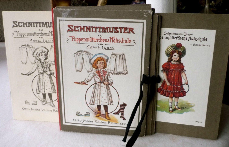 Agnes Lucas: Schnittmuster zu Puppenmütterchens Nähschule ...
