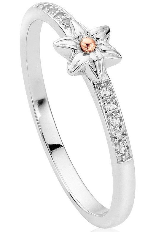 Clogau Ring Daffodil Stacking Silver | C W Sellors Fine Jewellery and Luxury Watches