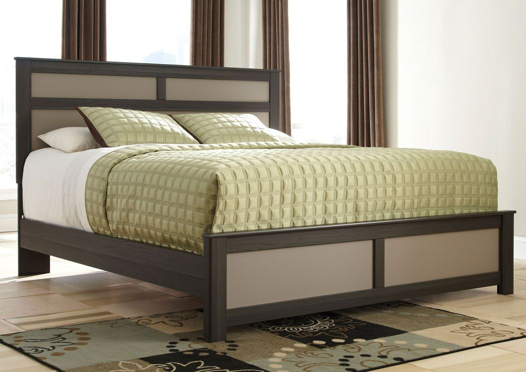 Wellatown King Panel Bed,Signature Design by Ashley