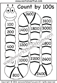 Skip Counting by 100 – Count by 100s