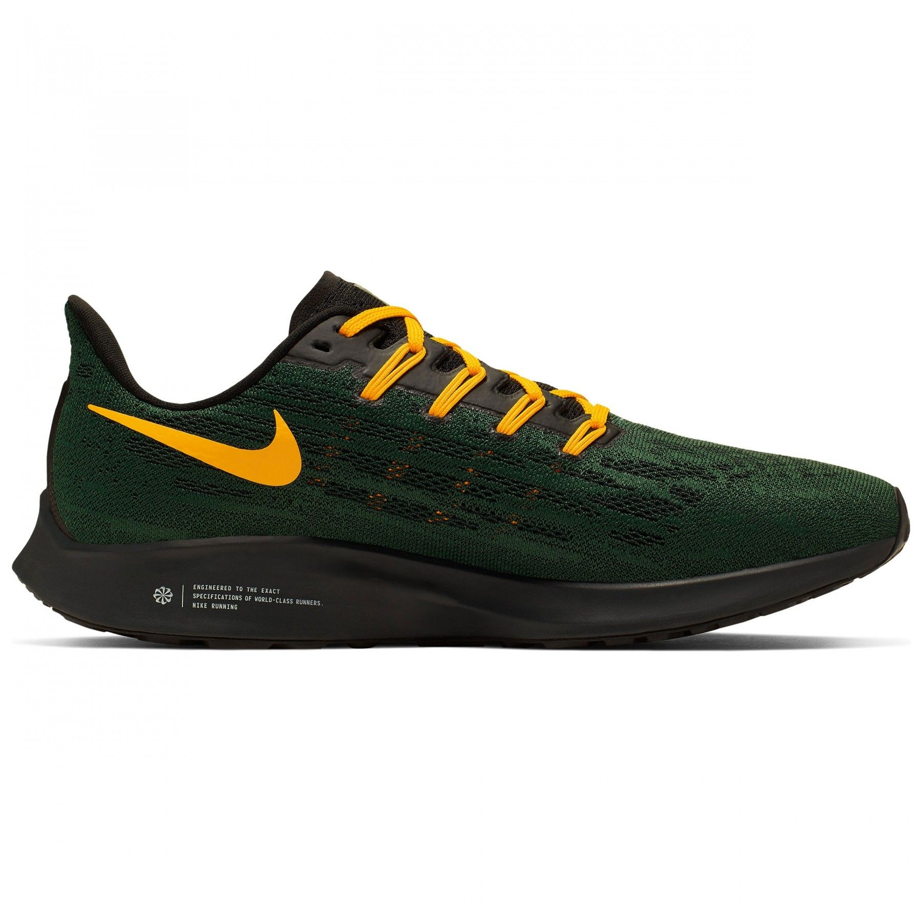 Green Bay Packers Air Zoom Pegasus 36 Shoe At The Packers Pro Shop Green Bay Packers Packers Womens Air Zoom
