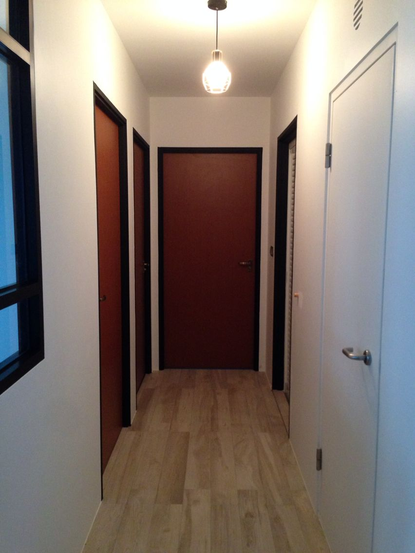 Black Door Frame Hdb Our Minimalist Scandinavian Project