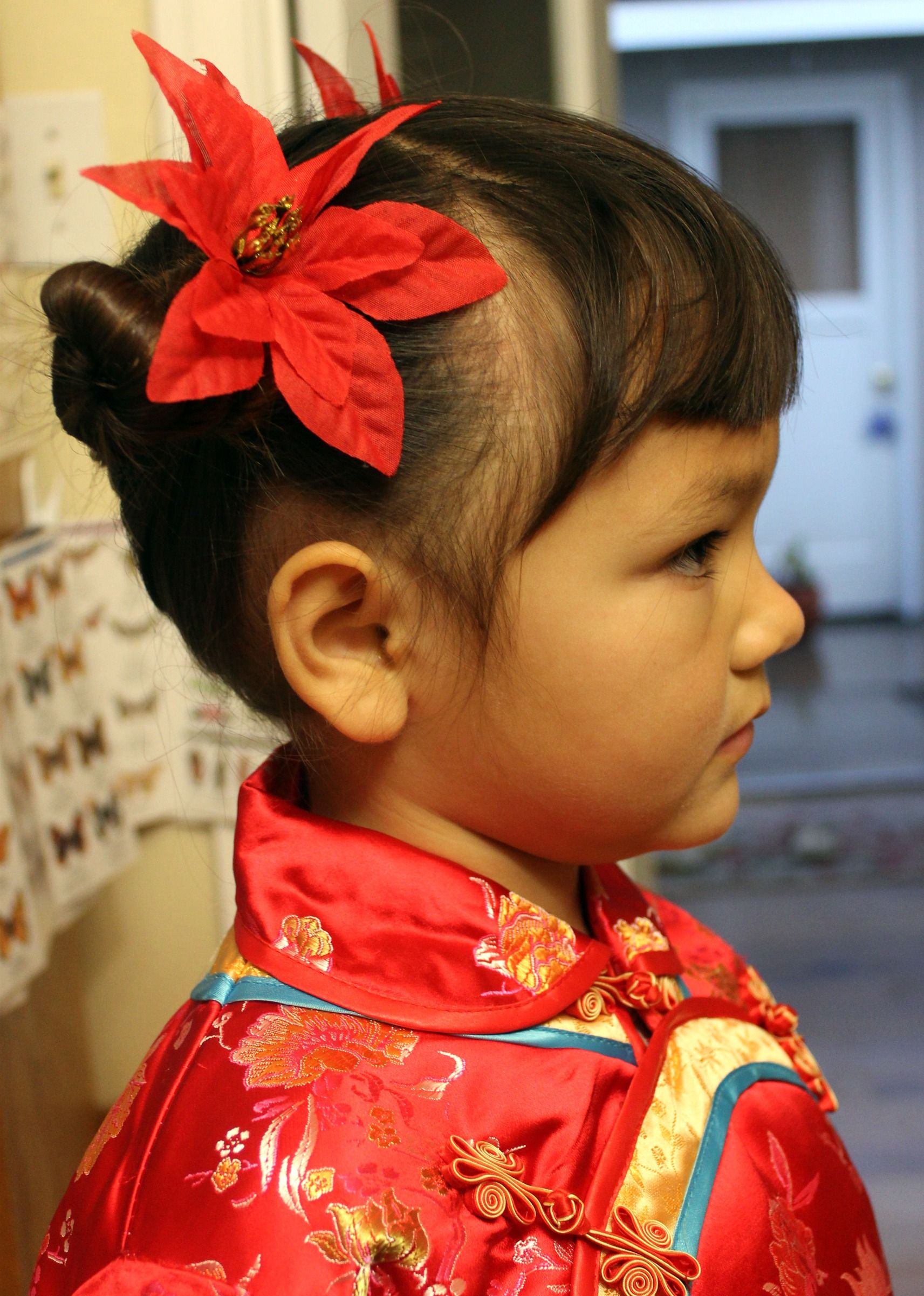 traditional chinese child hairstyle | creative hair