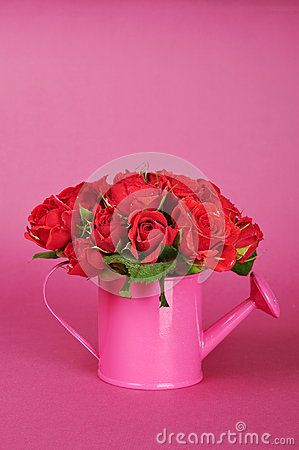 Bouquet of red roses by Tashka2000, via Dreamstime