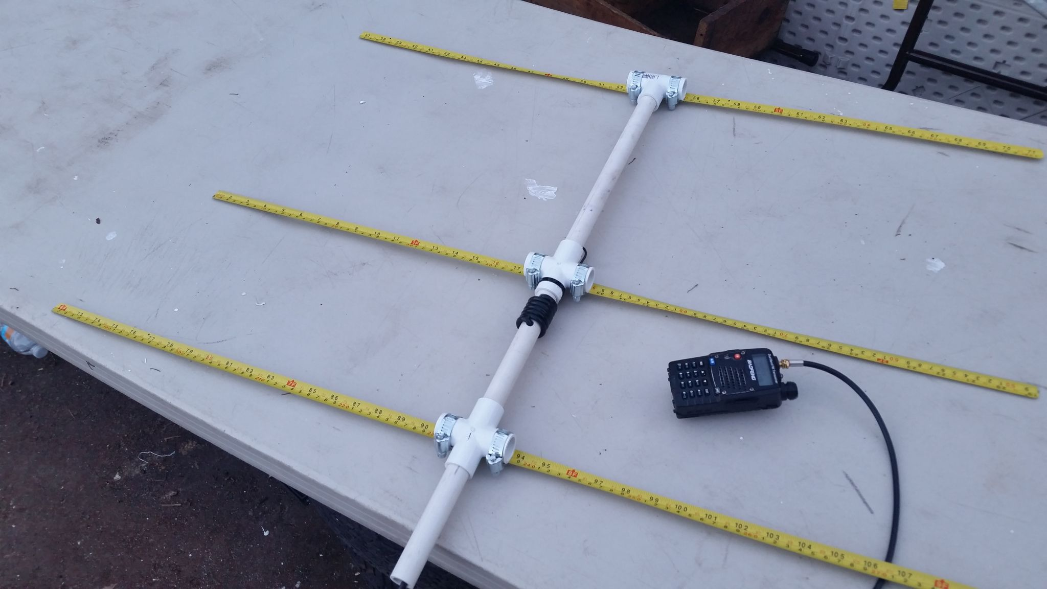 Antenne Yagi 3 Element Yagi antenne 102