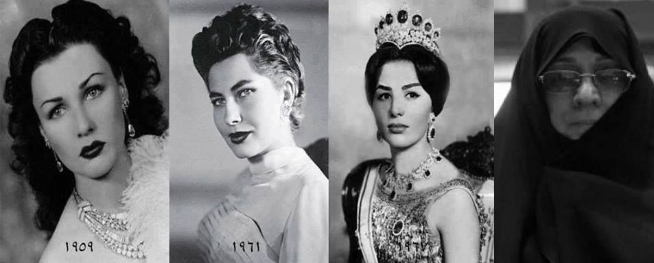 These Are The Last Three Queens Of Iran Before The Islamic -3827