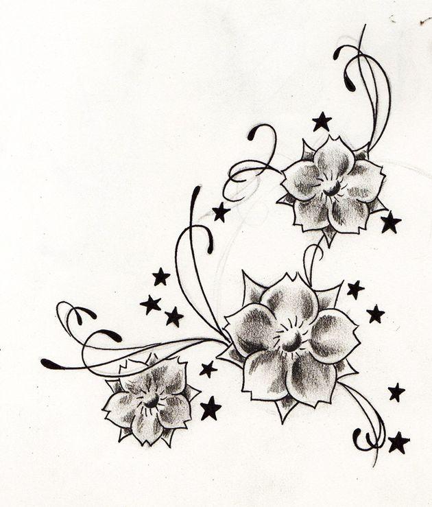 Dibujos De Flores Para Tatuar 8 Jpg 630 739 Tatuaje De Enredadera Tatuajes De La Flor De Jazmín Diseños De Tatuaje De Flores