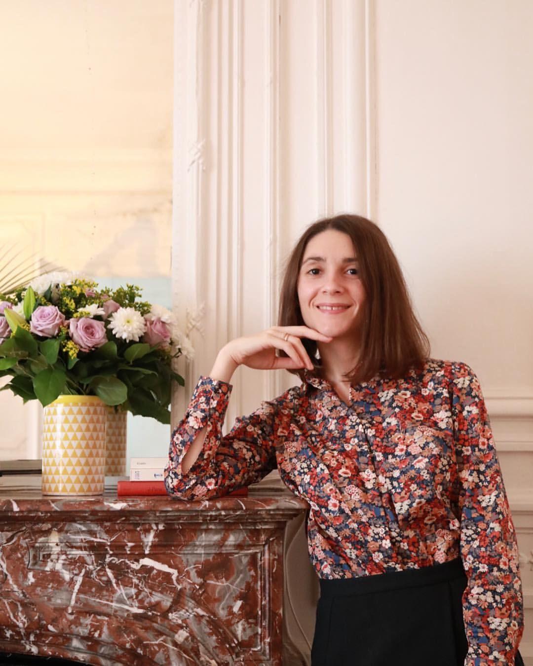 Ma Version Du Chemisier Septembre Par Atelier Charlotte Auzou Dans Un Sublime Tissu Liberty Cousette Blog Mode Et Couture Some Place Called Home