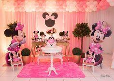 festa jardim da minnie rosa - Pesquisa Google