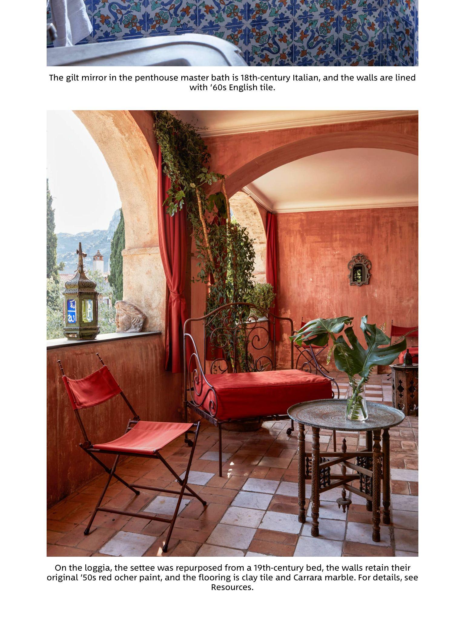 """paradise regained/john-mark horton"""" from elle decor, september 2017"""