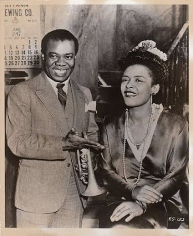 #LouisArmstrong & #BillieHoliday, 1947