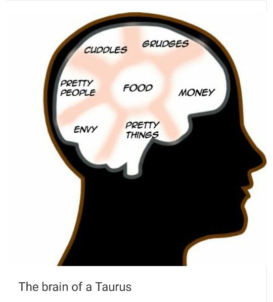 The Brain Of A Taurus - Dark Astrology on Tumblr | ZODIAC | Dark