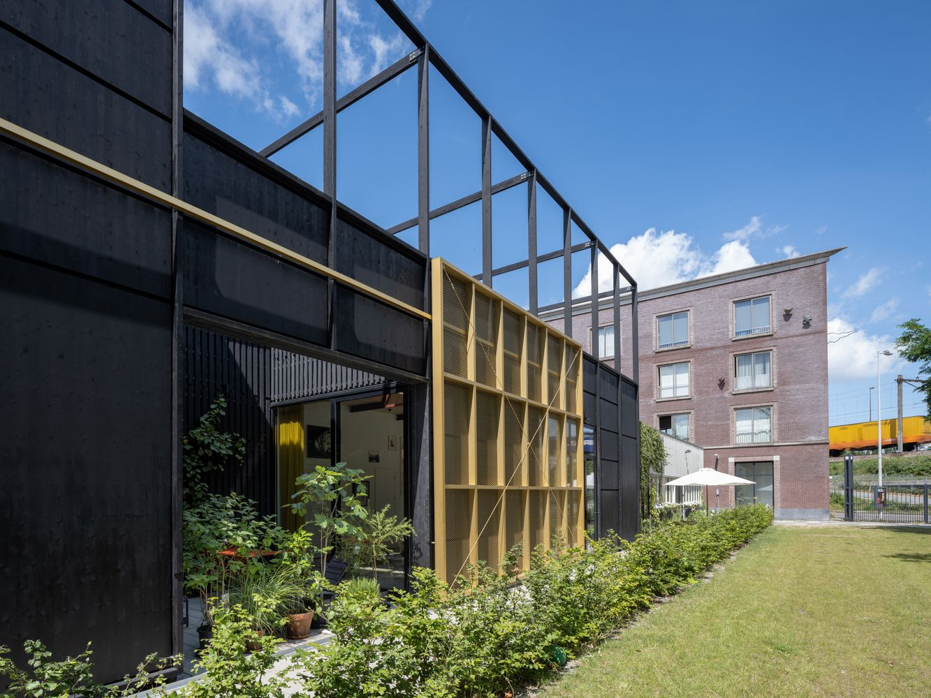 Gallery Of House M M Next Architects Claudia Linders 4 Architect Amsterdam Houses Industrial Architecture