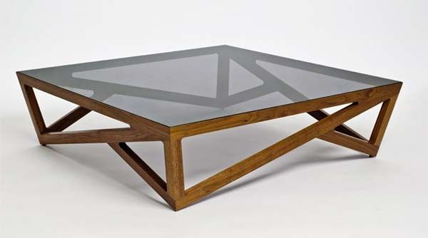 Elegant Glass Top Wood Coffee Table 3D Model Of Rectangle Glass Top Wooden Table 01  01. Enchanting Glass And Wood Coffee Table Modern