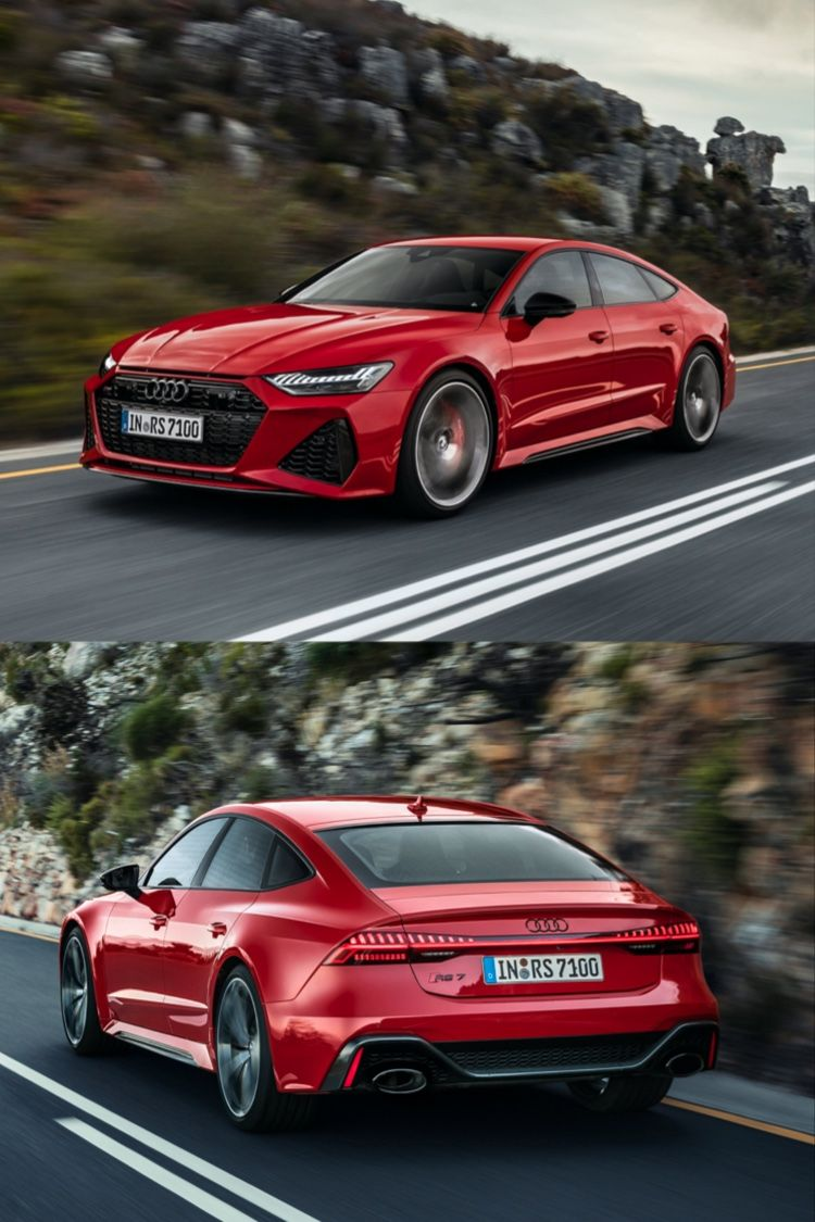The 2021 Audi RS 7 delivers 591horsepower and will start