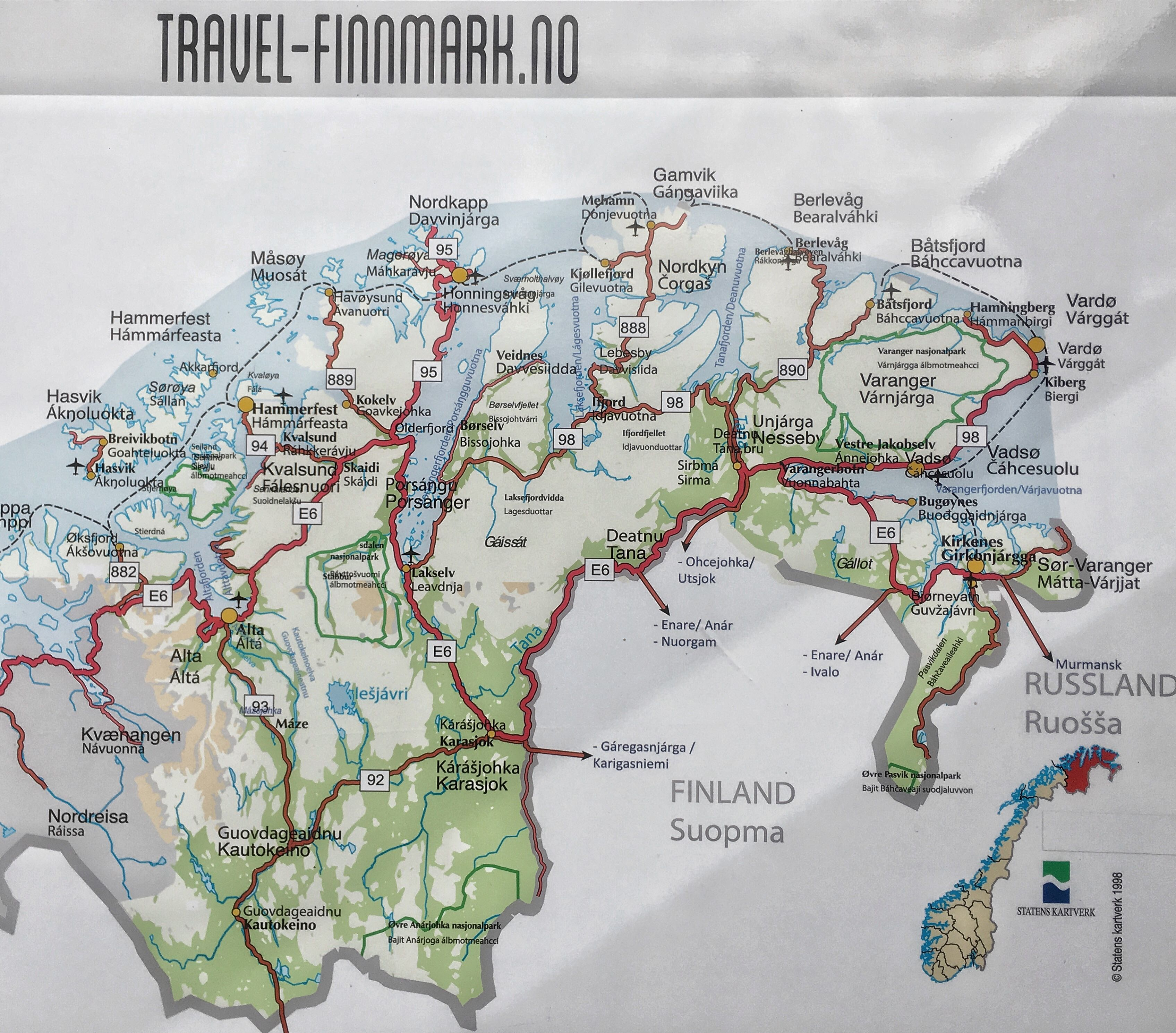 Finnmarkin Kartta Map Diagram World Map