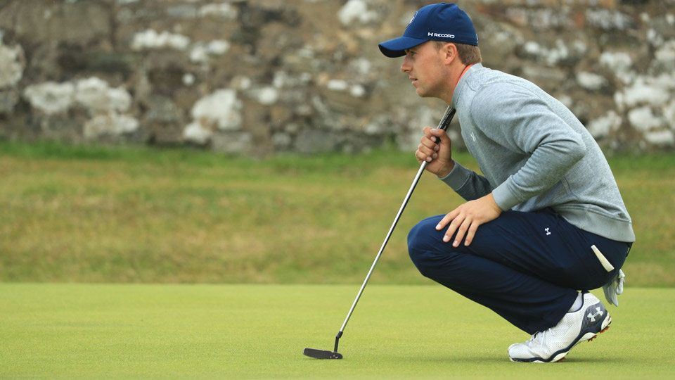 Jordan Spieth Debuted 'Smart' Golf Shoes at British Open | Jordan ...