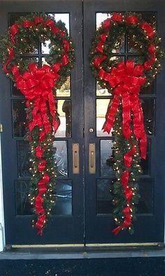 Adornos de navidad para la puerta buscar con google - Adornos de navidad para la puerta ...
