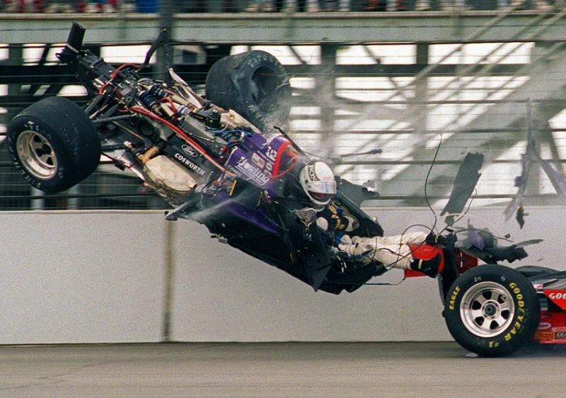 Spectacular crashes from the Indianapolis 500 Racing