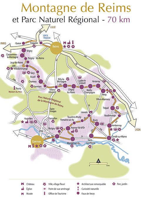 A Tour Along Champagne Route Between Reims And Epernay Maison D
