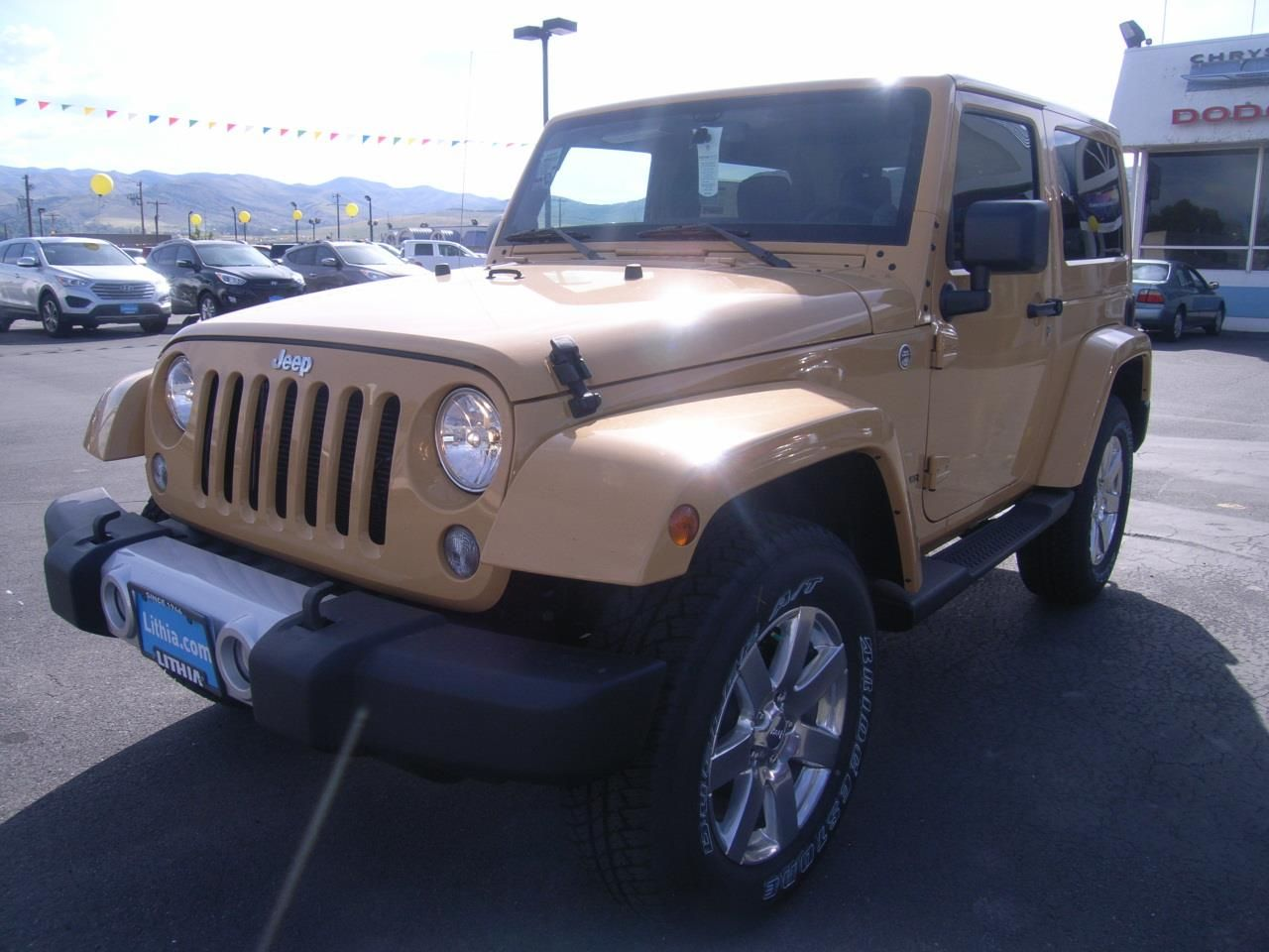 2014 jeep wrangler sahara 4x4 sahara 2dr suv suv 2 doors dune clear coat for sale in pocatello. Black Bedroom Furniture Sets. Home Design Ideas