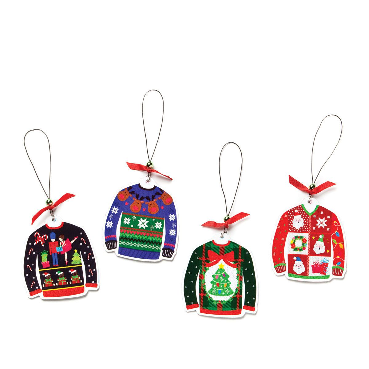 Ugly Sweater ornaments at Peppermint Forest Christmas Shop | Love ...
