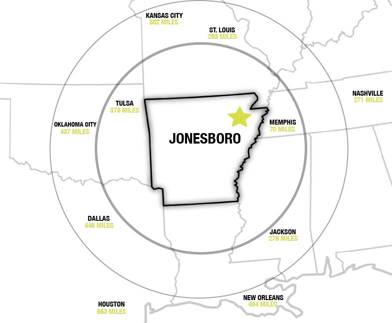 Why Jonesboro Arkansas Jonesboro Is The Retail Epicenter Of Northeast Arkansas And Is One Of Only 26 Cities In The 363 Me Jonesboro Business Travel Arkansas