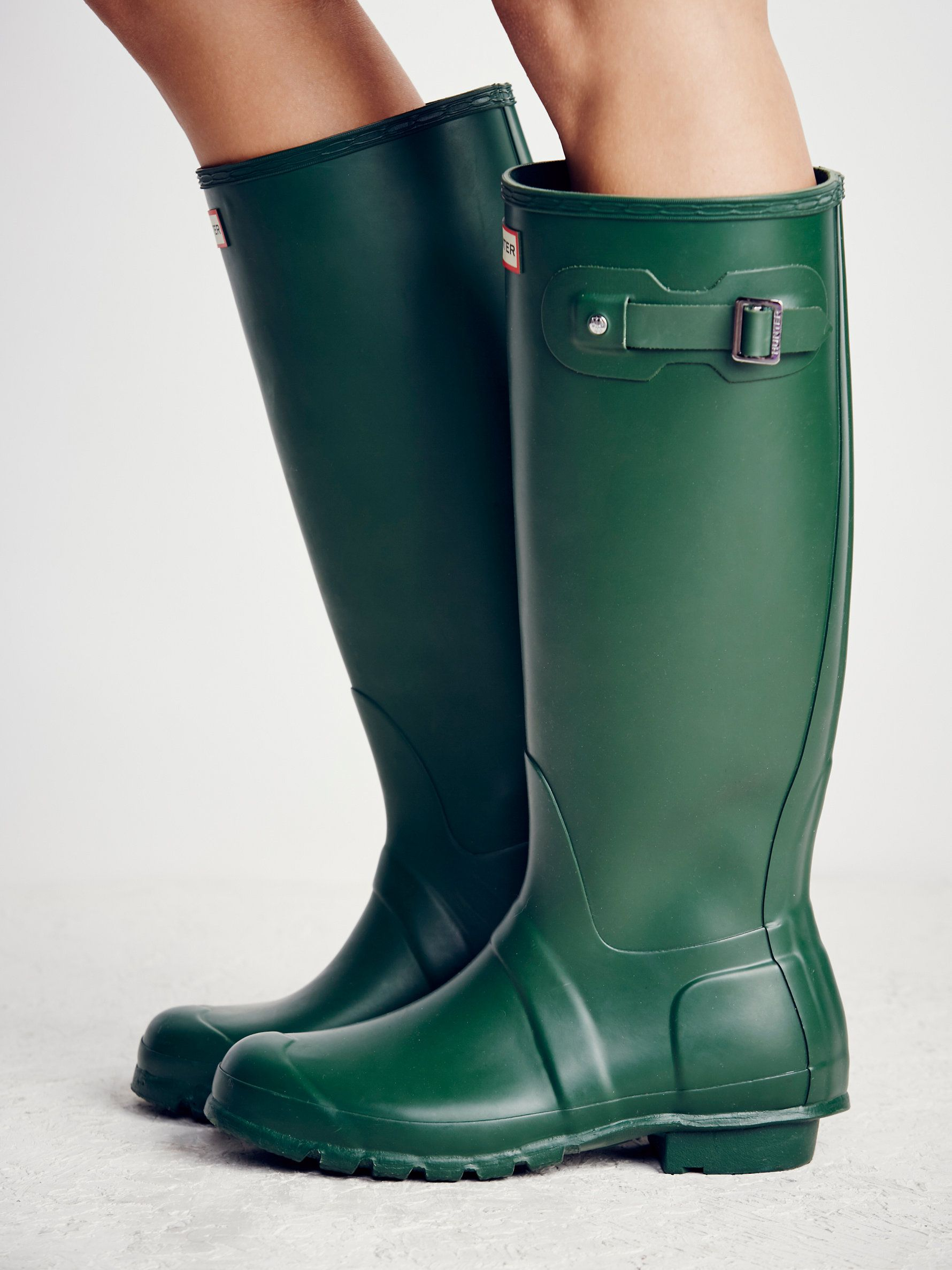 Free People Hunter Wellies. Hunter WelliesRubber Rain BootsBohemian ...