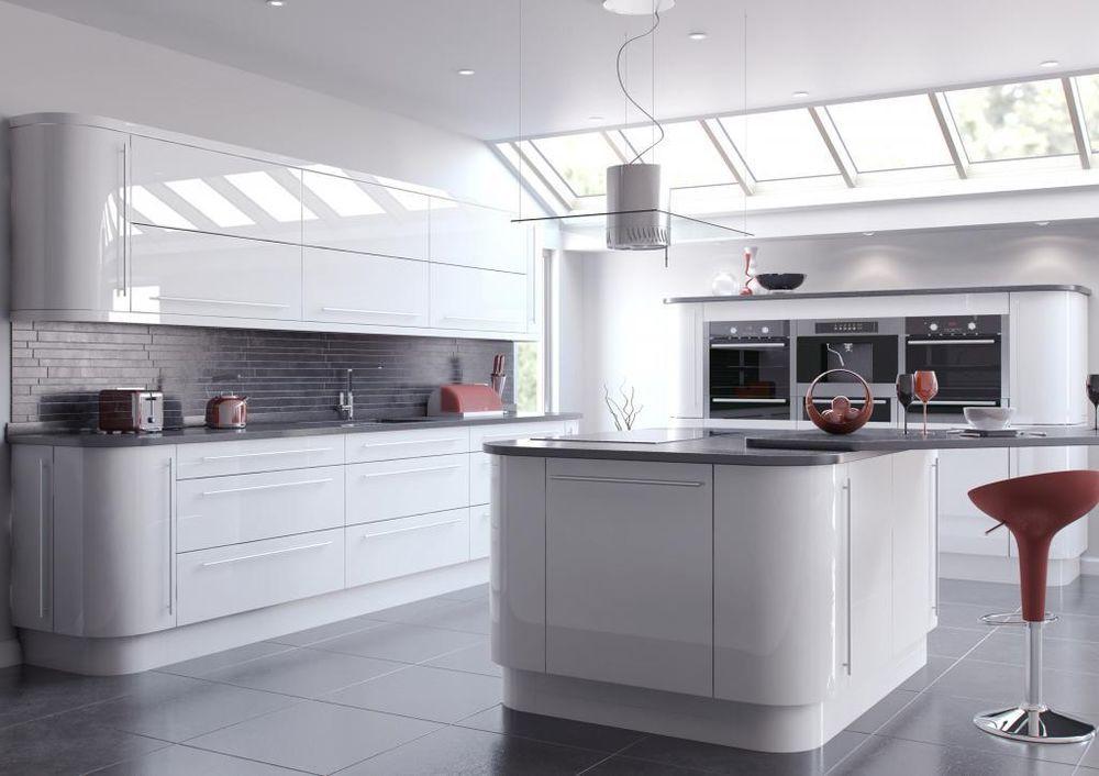 Moores Kitchens Door Handles White, Moores Kitchen Cabinets