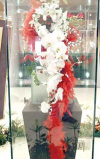 most expensive wedding bouquet