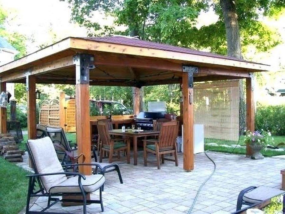 97 Great Patio Gazebo Canopy Design Ideas That Are Great For Replacing Your Gazebo Canopy 60 Patio Gazebo Pergola Patio