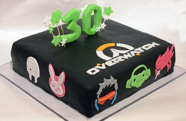 Overwatch birthday cake in 2019 | Cakes | Overwatch birthday, Cake ...