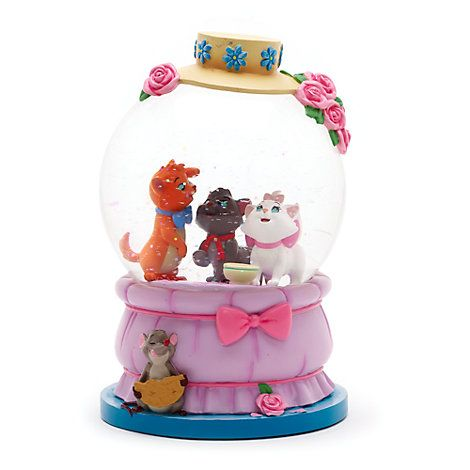 The Aristocats Snow Globe