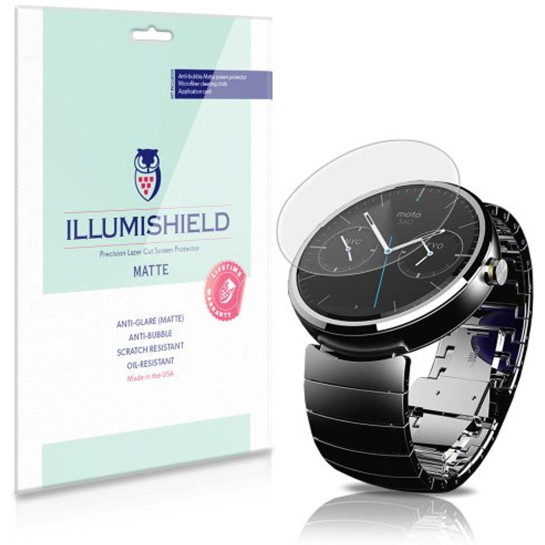 iLLumiShield - Motorola Moto 360 Android Smartwatch Anti ...