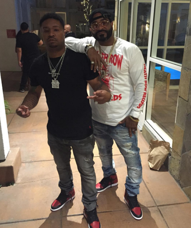 Jim Jones In The Air Jordan 1 Black Red Swag Ideas