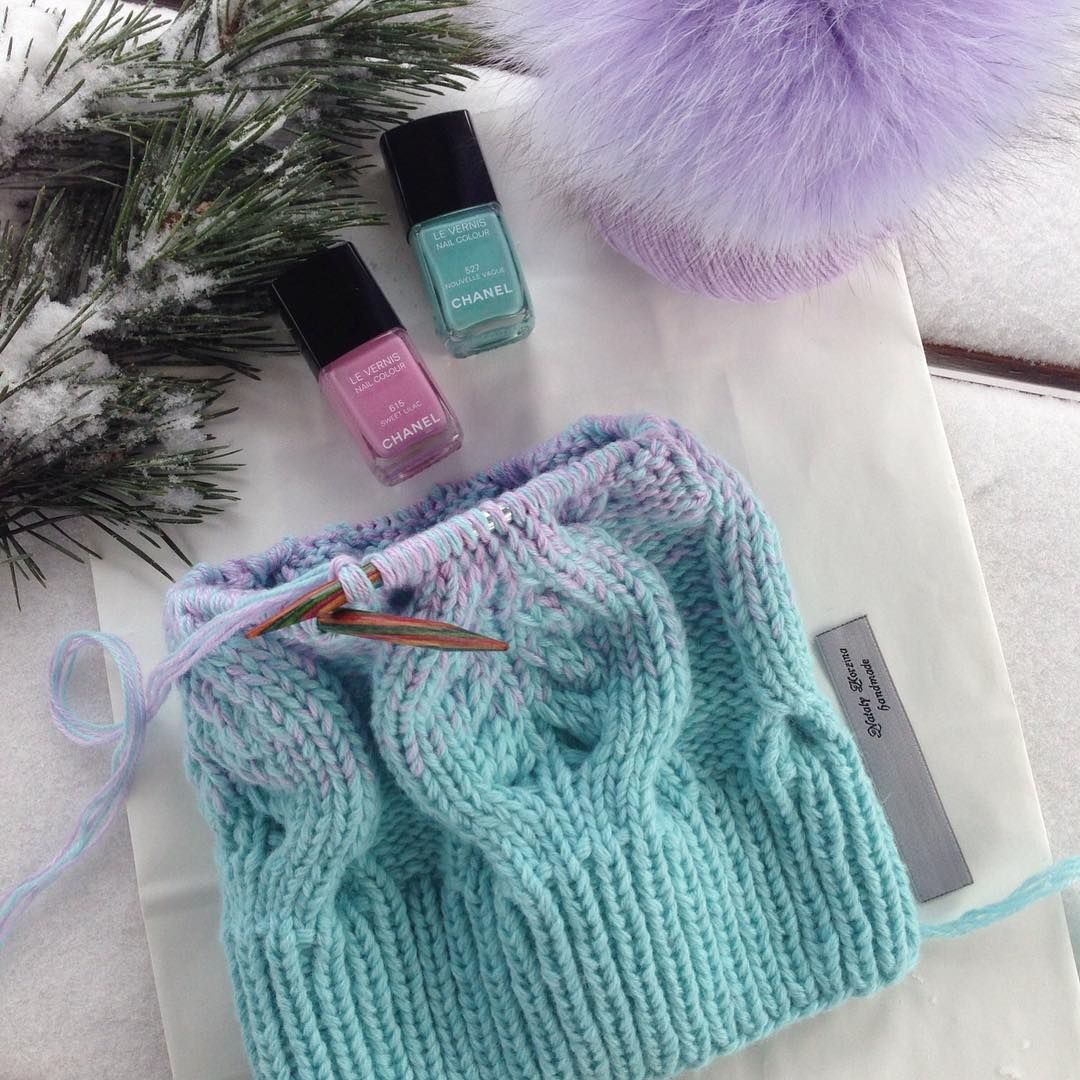 Мария матвеева вязание инстаграм
