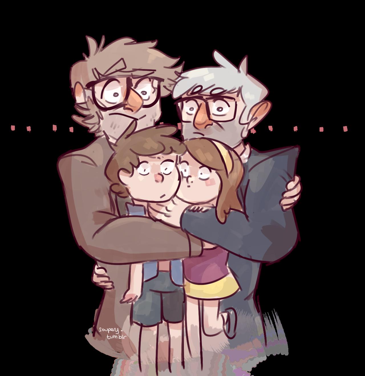 soupery: the ultimate awkward sibling hug