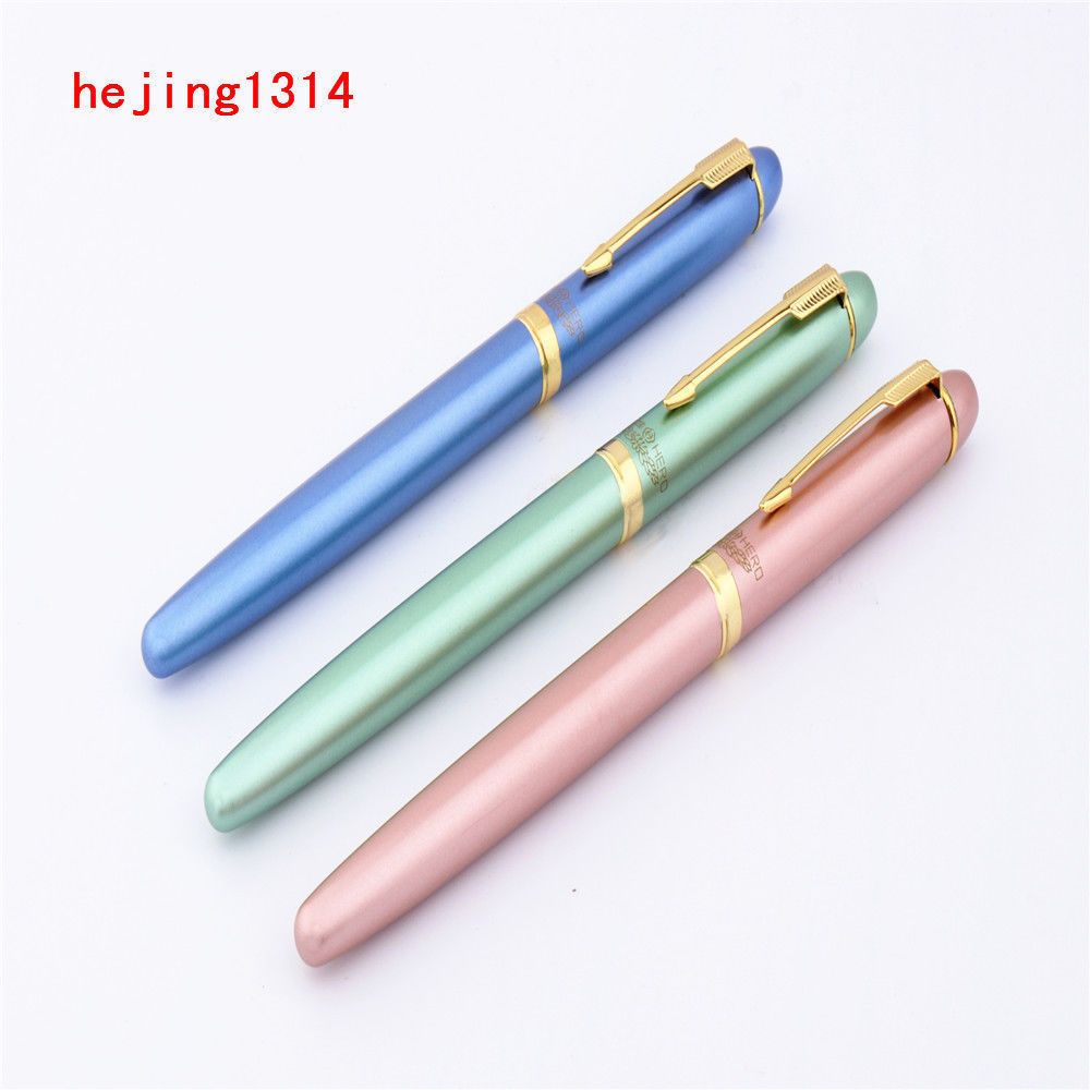 5 Types Luxury Hero 7035 colour writing Financial office Fine Nib Fountain pen