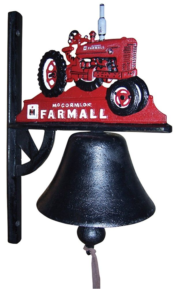 "New McCormick Farmall Pumpkin Tractor Wall Thermometer 10/"" Round"