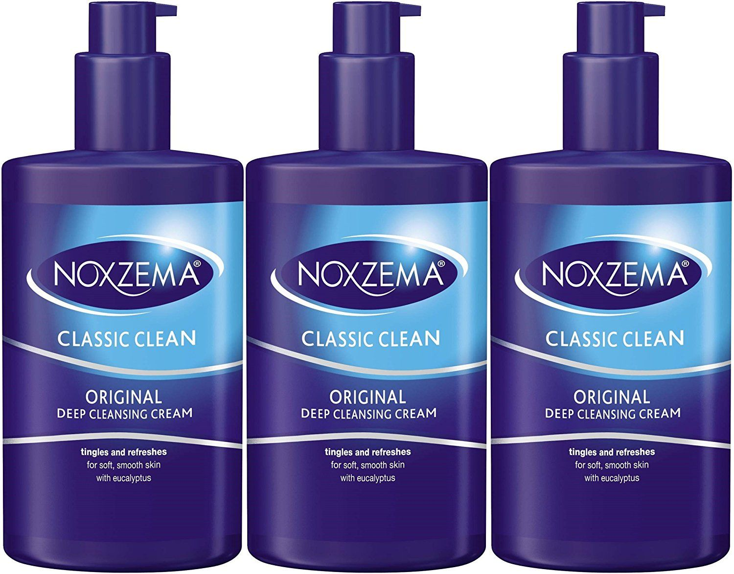 Noxzema Classic Clean Original Deep Cleansing Cream 8oz Pump 3 Pack Cleanser This Is An Amazon Affiliate Link Read More Reviews Of The Product By Visiting