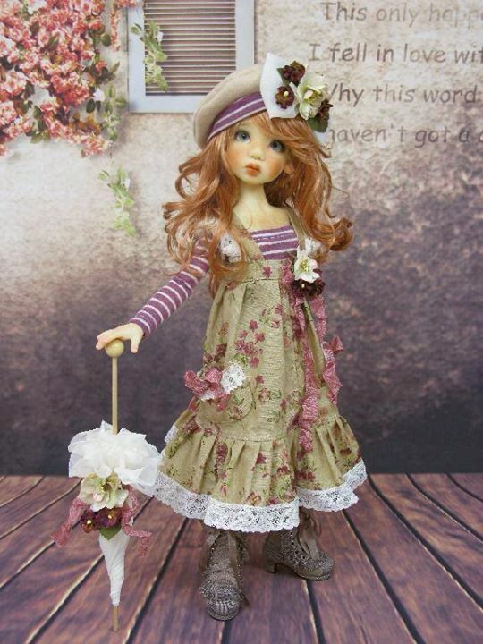 OOAK MSD Handmade Outfit by Monica Spicer