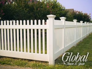 Vinyl Fence Made In The Usa Best Price Guaranteed Fence Styles Vinyl Fence Backyard Fences