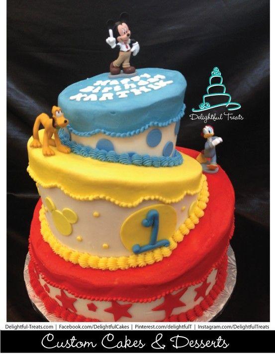 List Of Pinterest Donald Duck Birthday Cake Mice Images Donald